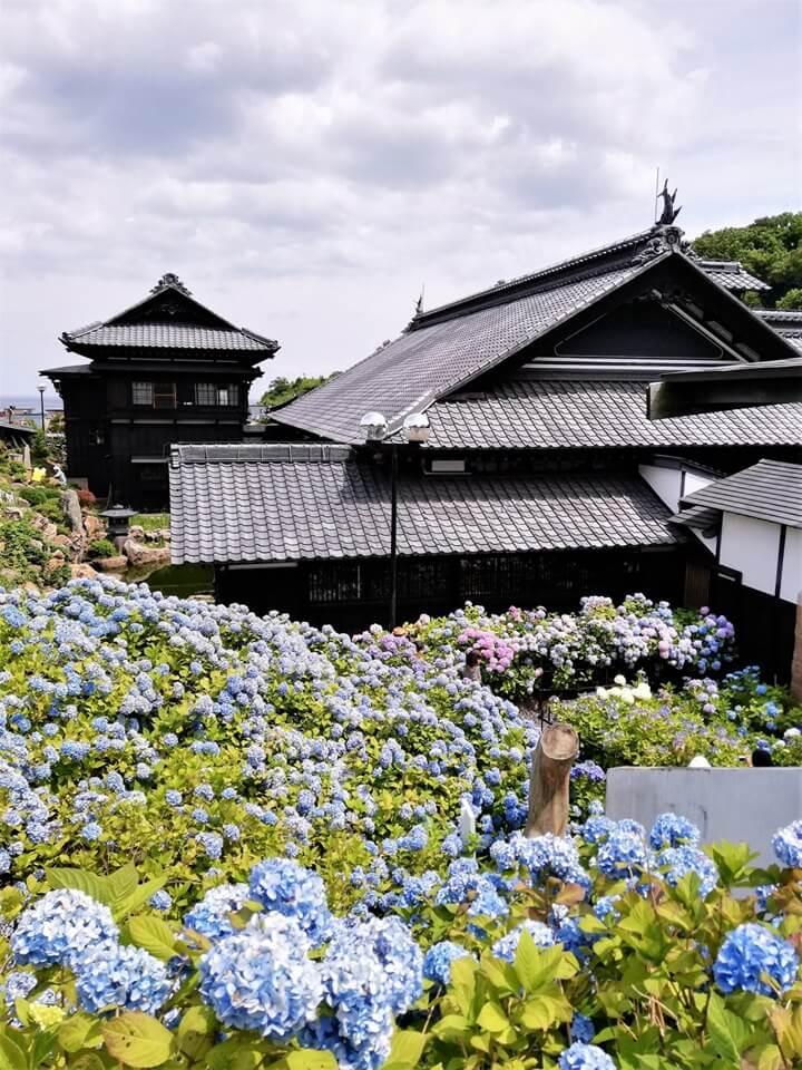 旧青山別邸とあじさえい園