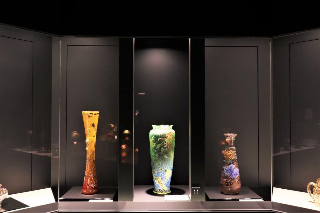 アールヌーヴォ―・アールデコ グラスギャラリー   に展示されている作品